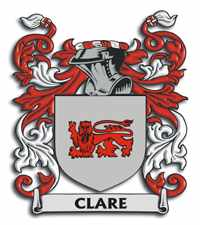 CLARE Coat of Arms