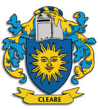 CLEARE Coat of Arms